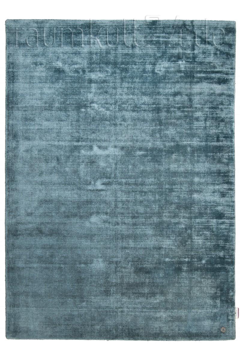 Marke Tom Tailor Tom Tailor Viskose Teppich Shine Uni Aqua