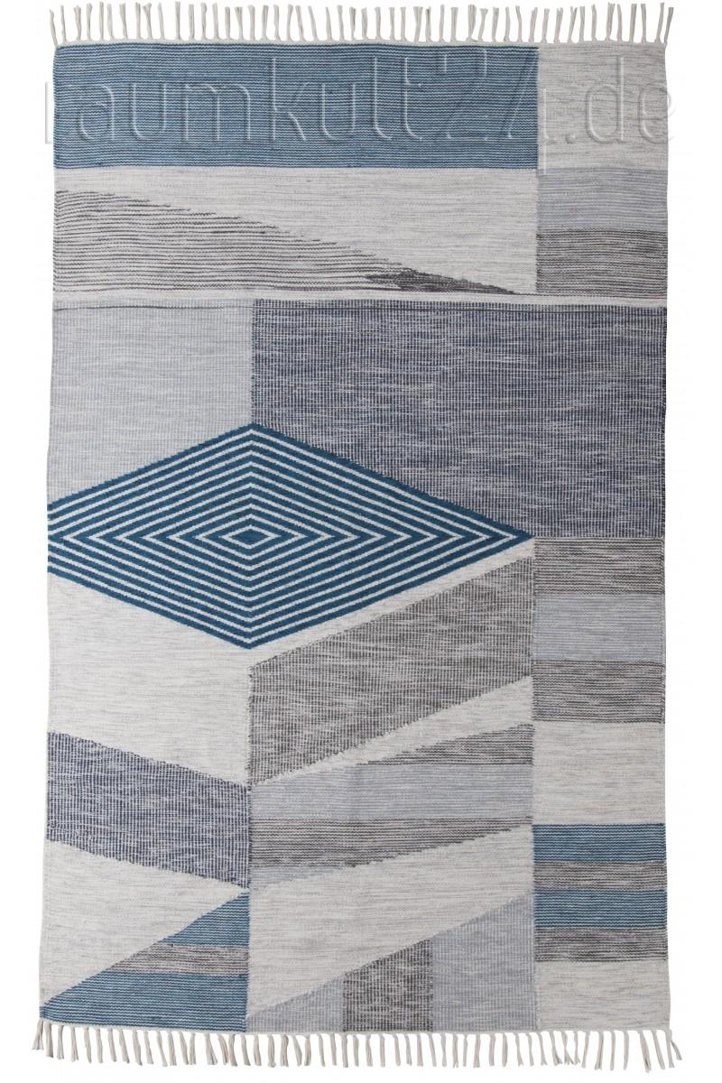 marke tom tailor vintage teppich mit fransen modern. Black Bedroom Furniture Sets. Home Design Ideas