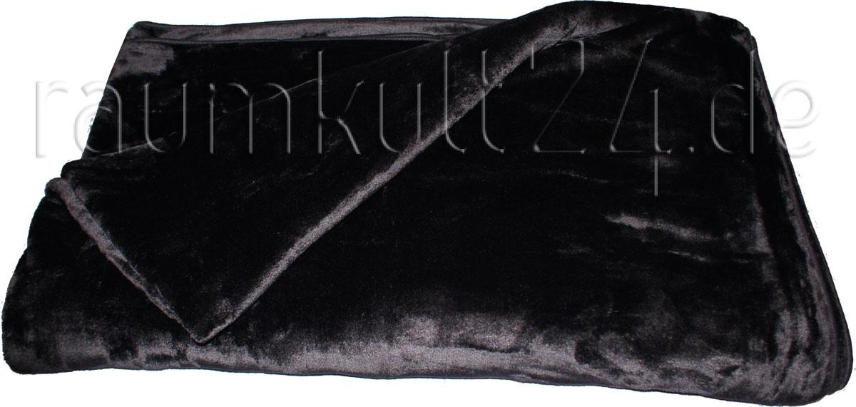 Marke Trendstyle - Mikrofaser-Wohndecke Cashmere-Feeling