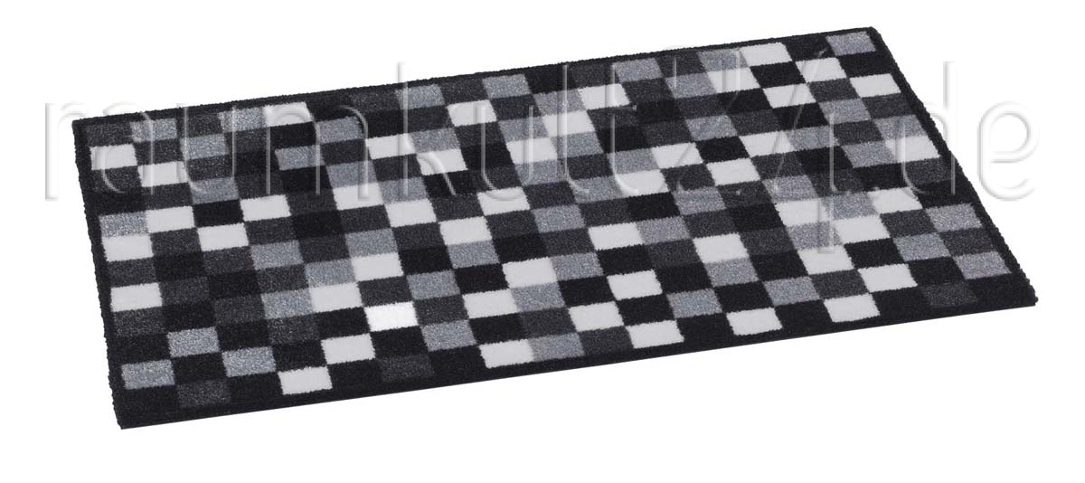 marke trendstyle schmutzfangmatte pixel grau. Black Bedroom Furniture Sets. Home Design Ideas