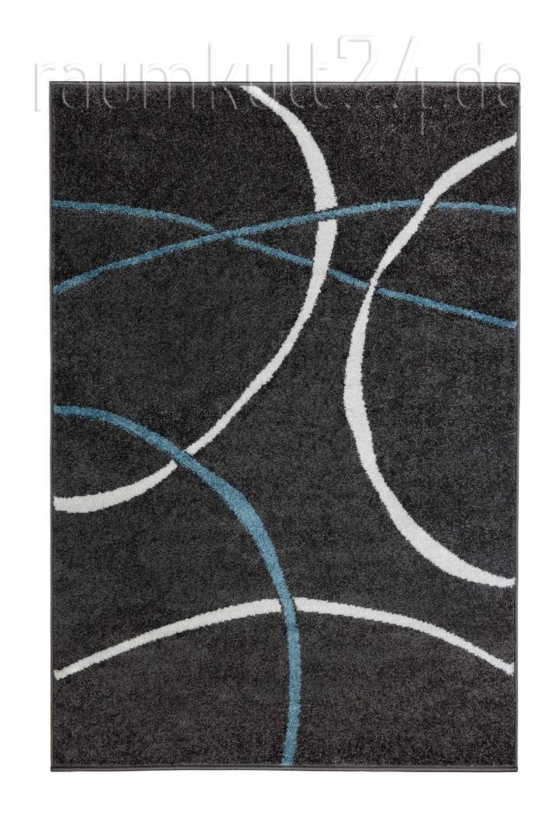 Marke Trendstyle Teppich Milano Des 110 Grau Raumkult24 De