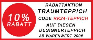 raumkult24 Rabattcode 10% auf Teppich