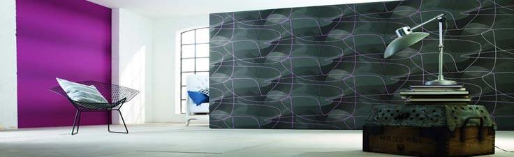 designer tapeten design raumbilder