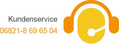 Kundenservice: 06821-8 69 65 04